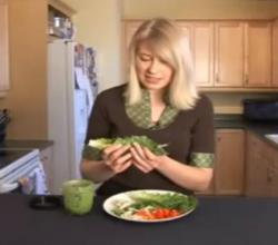 Leftover Turkey Lettuce Wraps Recipe by Luci Lock