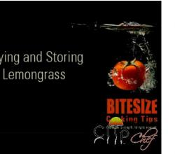 Buying and Storing Lemongrass