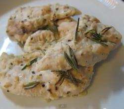 Lemon Chicken With Garlic And Rosemary
