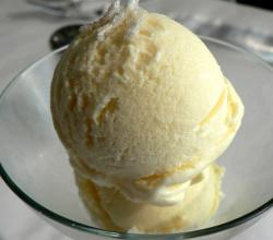 Lemon Ginger Ice Cream