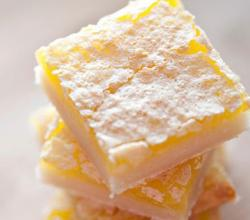 Lemon Snow Bars