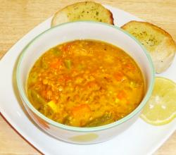 Indian Lentil And Vegetable Soup