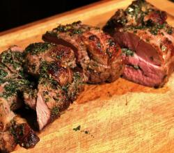 Crusty Rosemary Lamb