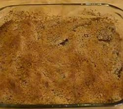 Healthy Low Carb Baked Apple Crisp - Part 1 - Topping and Baking