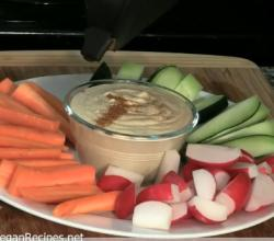 Mediterranean Low Fat Hummus