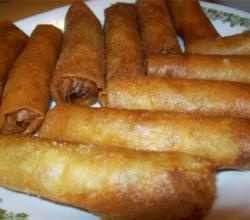 Pinoy Lumpiang Toge (Vegetable Egg Roll) Part 1 of 2