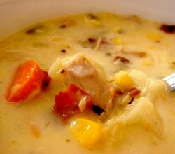 Luncheon Vegetable Chowder