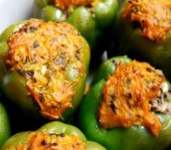 Macaroni Stuffed Peppers