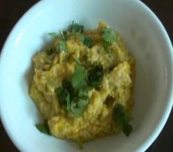 Makai no Chevdo or Khichdi - Spicy Corn Chowder
