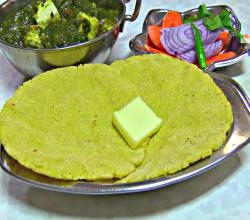 Makki ki Roti - Indian Flat Corn Bread