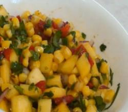 Corn and Mango Salsa