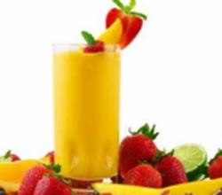 Mango Banana Shake With Yogurt
