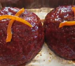 Smoked Buffalo Meat Balls