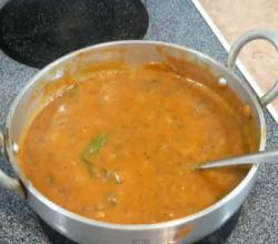 Indian Masoor Dal Fry