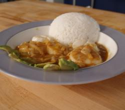 Thai Jumbo Scallops With Massaman Curry Sauce