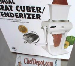 Meat Cuber Tenderizer Review