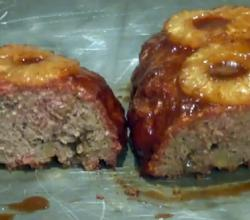 Smoked Hawaiian Meatloaf