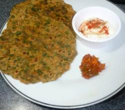 Fenugreek Oil Roasted Flatbread