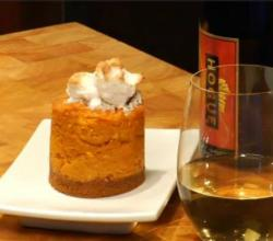 Sweet Potato Pie and Marshmallow Whip Paired with Hogue Late Forrest Riesling