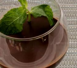 Minted Chocolate Mousse