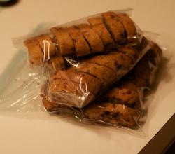 GRetch Men's Mocha Chocolate Chip Biscotti