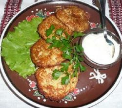 Mock Potato Pancakes
