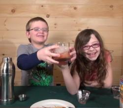Mocktails4Kids: SharkBlood Mocktail, Non-Alcoholic / Virgin