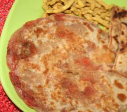 Healthy and Tasty Mixed Veg Paratha