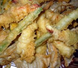 Seafood Vegetable Tempura