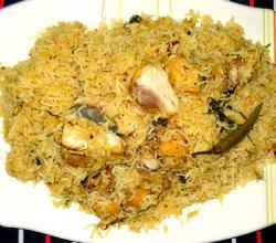 Hyderabadi Style Mutton Biryani