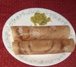 Mysore Masala Dosa - Indian Breakfast