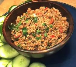 Easy Thai Spicy Pork Dip Recipe (Nam Prik Ong)