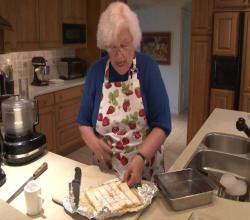 Nana's Famous Lemon Squares- Part 1