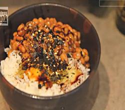 Natto Gohan - Traditional Japanese Breakfast