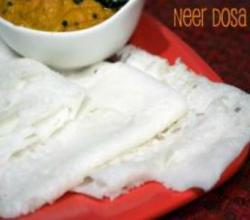 Neer Dosa - Soft Dosa No Fermentation Required - Indian Breakfast