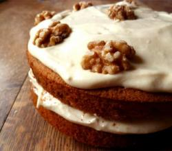 New England Maple Walnut Cake