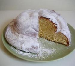Nutmeg Feather Cake