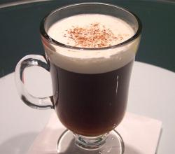 Nutmeg Flavored Irish Coffee