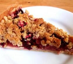 Oat Plum Crumble