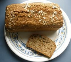 Oatmeal And Cottage Cheese Loaf