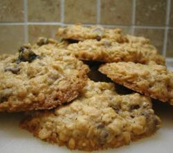 Old Time Oatmeal Raisin Cookies