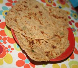 Onion Garlic Paratha