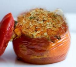 Olive Stuffed Tomatoes