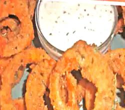Old Fashioned Buffalo Onion Rings