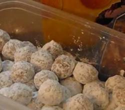 No Bake Orange Balls