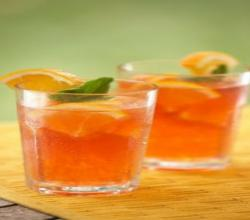Orange Cardamom Iced Tea