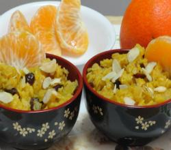 Orange Cranberry Oats for Breakfast by Bhavna