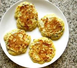Orange Griddle cakes