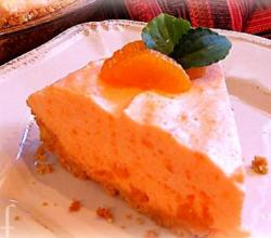 Orange Lime Chiffon Pie