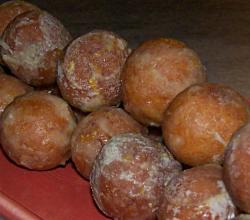 Orange Olive Oil Donut Holes